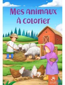 Livre de Coloriage : Mes Animaux à Colorier