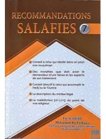 Recommandation Salafies 7