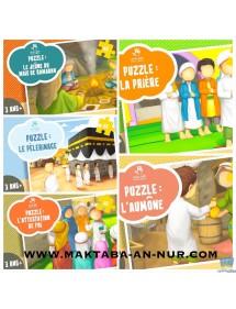 PACK PUZZLE 5 PILIERS DE L'ISLAM