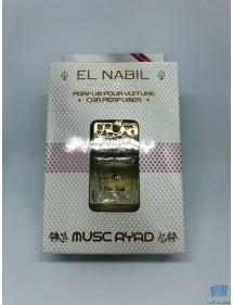 """Parfum diffuseur pour voiture """"Musc Ayad"""" EL Nabil – 6ml-"""